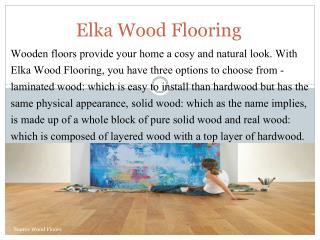 Buy online Elka wood flooring: Source wood floors