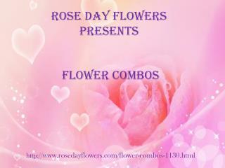 Unique collection of flower combos @ Rosedayflowers.com