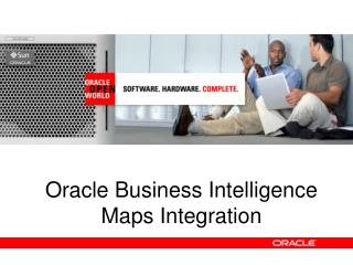 Oracle Business Intelligence Maps Integration