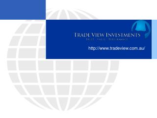 Professional Proprietary Trading firm : Trade View Investments