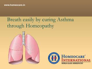 Cure Asthma Disease with Homeopathy Treatment