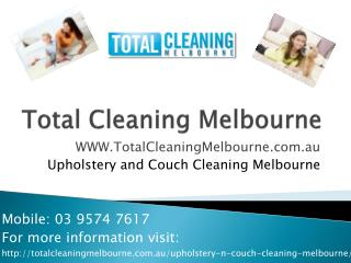 Upholstery�Cleaning�Melbourne