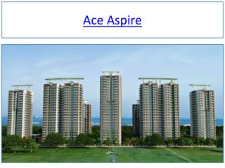 Ace Aspire in Noida Extension