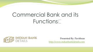 commercial bank branches