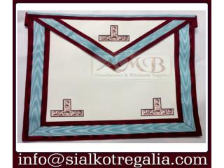 Masonic Mark worship master apron
