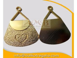Masonic craft regalia collar jewels