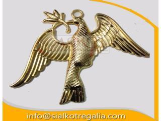 Masonic collar jewels deacon