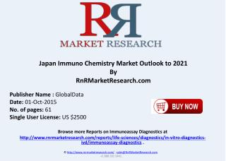 Japan Immuno Chemistry Market Outlook to 2021