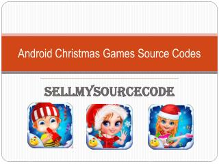 Android Christmas Games Source Codes