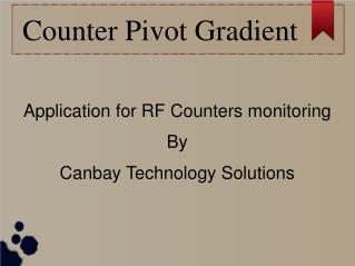 RF Counter Monitor - Canbay
