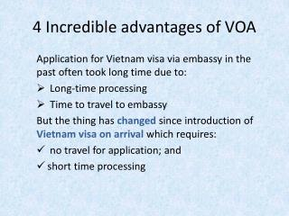 4 Incredible Advantages of Vietnam Visa on Arrival