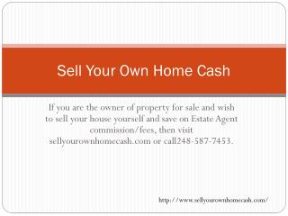 Selling Homes