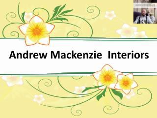 Interior Home Designer - Andrew Mackenzie