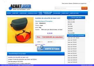 lunette laser