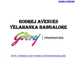 Godrej Avenues – Best Residential Project Yelahanka Bangalore