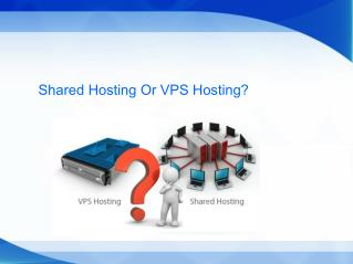 Should you upgrade to VPS or Shared Hosting?
