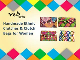 Handmade Designer Ethnic Clutches | Hippie Clutch Bags | Gypsy Purses