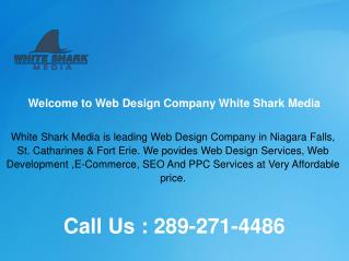 Affordable Web Design Company in St. Catharines & Fort Erie