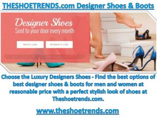 Theshoetrends.com Online Designer Shoes