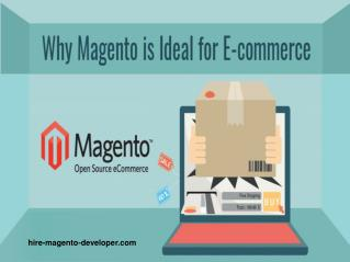 Magento | Ideal for eCommerce