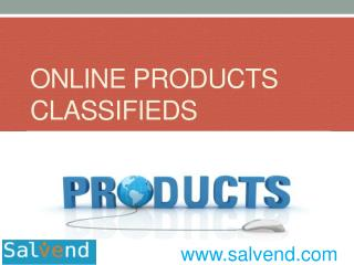 Online Products Classifieds