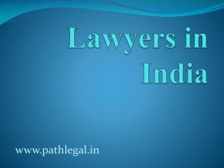 Lawyers in India