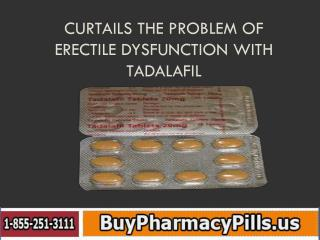 Curtails the Problem of Erectile Dysfunction with Tadalafil