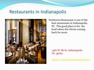 Restaurant-Indianapolis-Catering Services