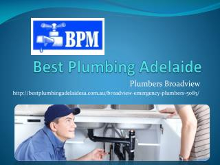 Plumbers Broadview