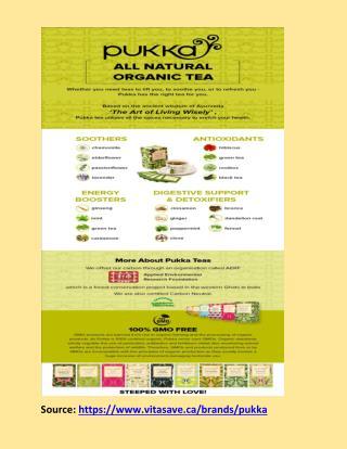 Pukka Tea - Effective Body Digestive Agent