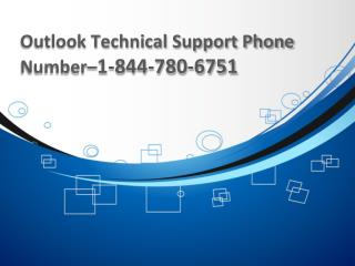 Outlook Customer Support Number–1-844-780-6751 USA & Canada Users