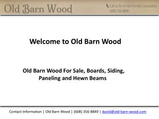 Barn wood furniture by old barn-wood.com