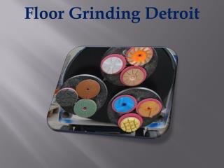 Floor Grinding Detroit