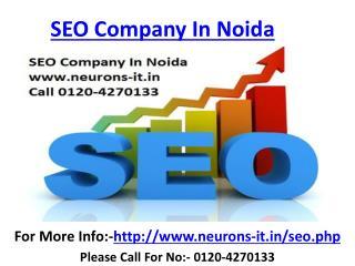 Seo Company in Noida & Web design Services delhi Call 0120-4270133