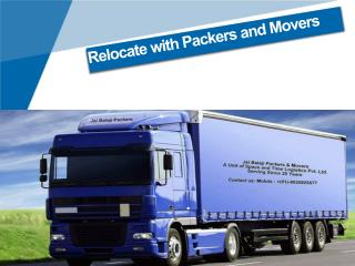 Relocate with Packers and Movers