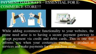 Radiant Payment Gateway Solutions