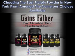 Choosing The Best Protein Powder In New York From Amongst The Numerous Choices Available