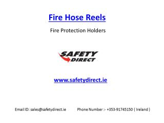 Fire Hose Reels in Ireland at SafetyDirect.ie