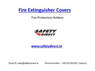 Fire Extinguisher Covers in Ireland at SafetyDirect.ie