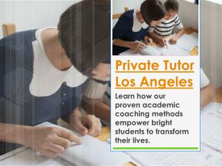 Sat Prep Los Angeles