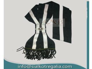 Masonic Knight Templar preceptor sash