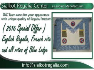 Masonic french master apron