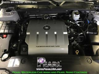 Pearl Waterless Car Wash and Pearl Nano Coatings in Hi Def Auto Spa.