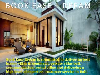 Best Accommodation Villas & Bali