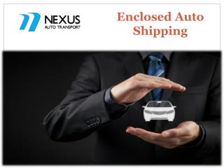 Enclosed Auto Shipping