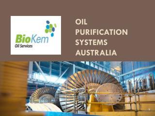 Oil Purification Systems Australia