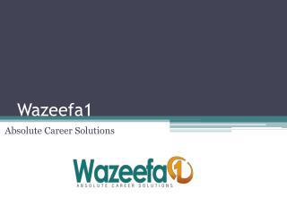 Wazeefa1 - Absolute Career Solutions