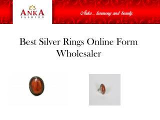 Best Silver Rings Online Form Wholesaler