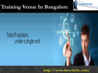 Training Venue In Bangalore