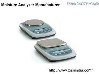 Moisture Analyzer Manufacturer